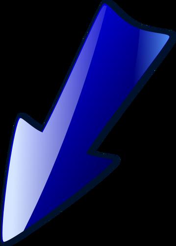 seta azul